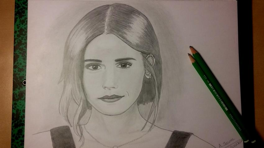 Emma Watson por jaj2307
